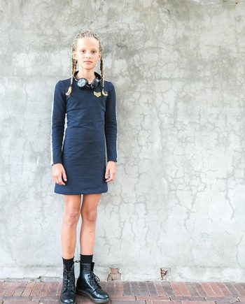Classy dress blue